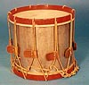 NMM 10044.  Side drum by Wilson Brothers, Chicago, ca. 1925