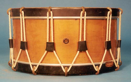 NMM 10,045.  Snare drum by J. B. Treat for