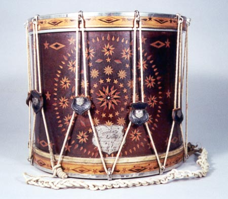 NMM 10,141. Side drum by W. S. Tompkins, 