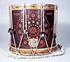 NMM 10141.  Side drum by W. S. Tompkins, 