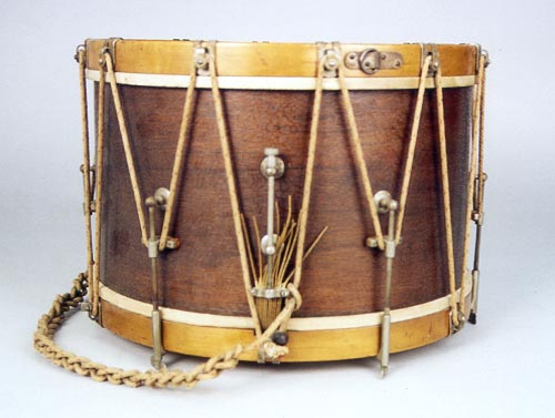 NMM  10,145.  Parade drum by Ludwig & Ludwig, 