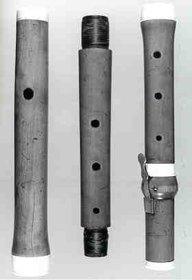 NMM 4166.  Flute by Richard Potter, ca. 1750-1770