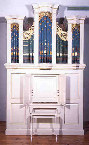 NMM 4905.  Pipe organ by Christian Dieffenbach, Bethel 