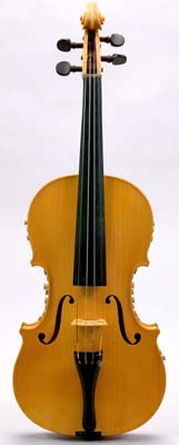 NMM 10116.  Violin by Carleen Hutchins, Montclair, New Jersey, 1982