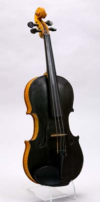 NMM 10182.  Violin by Carleen Hutchins, Montclair, New Jersey, 1974, in collaboration with Daniel W. Haines, University of South Carolina, Columbia.