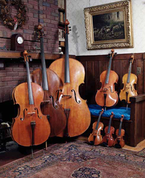A typical Violin Octet by Carleen Hutchins