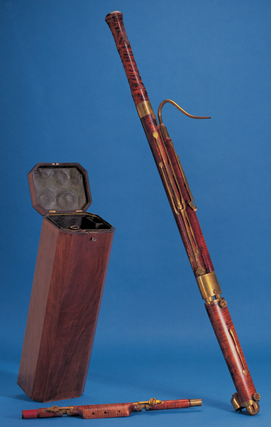 NMM 2418. Bassoon by Jean Nicolas Savary jeune, Paris, 1823.