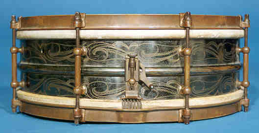 NMM 7449. Snare Drum by Ludwig & Ludwig, Chicago, 