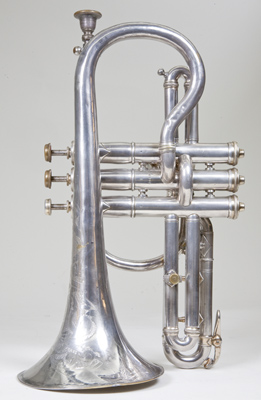 Side view 2 of cornet