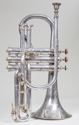 Side view 1 of cornet