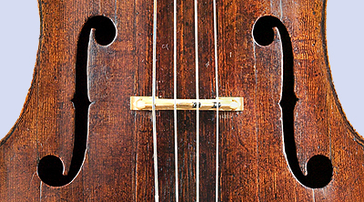 NMM 3351.  Violoncello by Andrea Amati, Cremona, after 1538