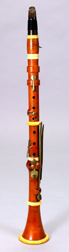 NMM 5949.  Clarinet in C by Bouchman, Annonay, France, ca. 1825.