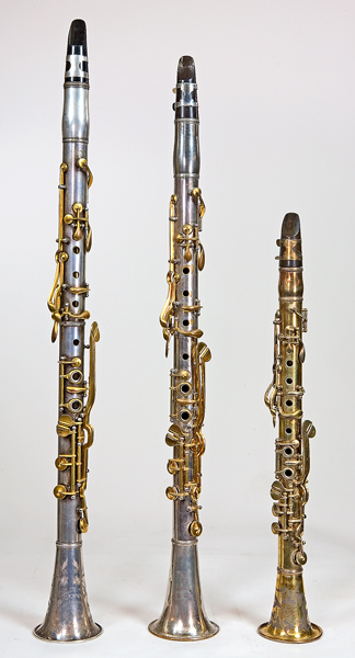Checklist Of Double Wall Metal Clarinets By C G Conn