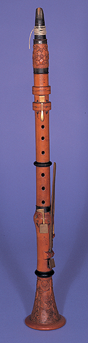 NMM 5774. Clarinet in C by Wolfgang Kuss, 