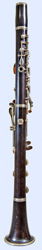 Back view of Leblanc clarinet