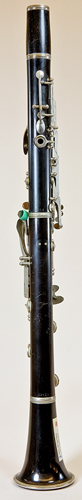 Back view of Noblet clarinet