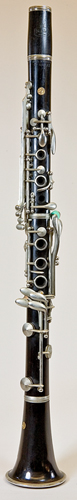 NMM 13213.  Clarinet in B-flat by Noblet, Paris, ca. 1960-1965.