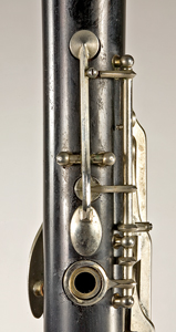 Register key on Noblet clarinet
