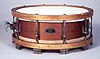 NMM 10144.  Snare drum by A. M. Hoskins, Minneapolis, ca. 1913.