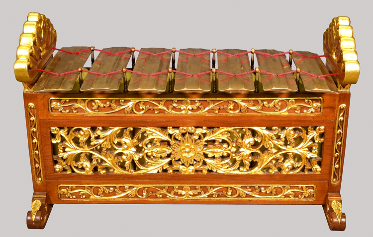 Slenthem from Javanese Gamelan at the National Music Museum