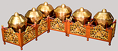A kenong from the Kyai Rengga Manis Everist Gamelan