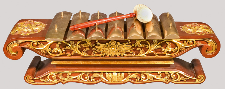 Saron Barung from Javanese Gamelan at the National Music ...