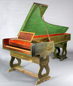 Harpsichord by Jose Calisto, Portugal, 1780