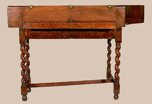 ... Front view, lid closed ... - Index Of Digital Images Of Haward Spinet At The National Music Museum