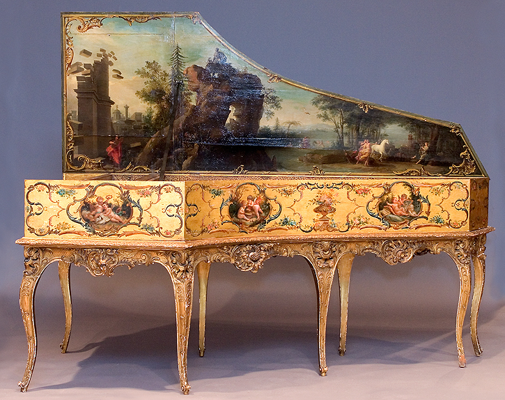 Harpsichord By Andreas Ruckers Antwerp 1643 At The