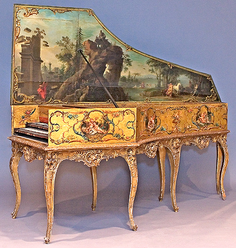 Harpsichord by Andreas Ruckers, Antwerp, 1643, at the ...