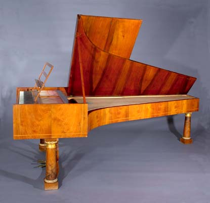 Grand Piano by Nannette Streicher, Vienna, 1829, at the National