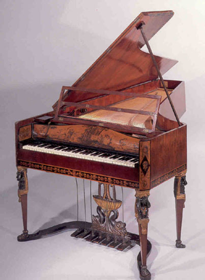 NMM 3587.  Grand piano by Anton Martin Thÿm, Vienna, ca. 1815.  Rawlins Fund, 1985.