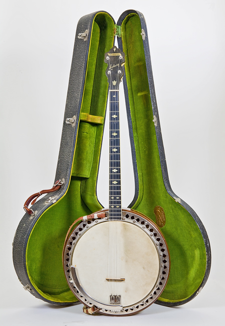 Tenor banjo by Ludwig and Ludwig, Chicago, ca  1925-1933