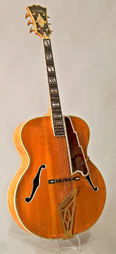 NMM 10827.  Guitar by John D'Angelico, New York, 1947.