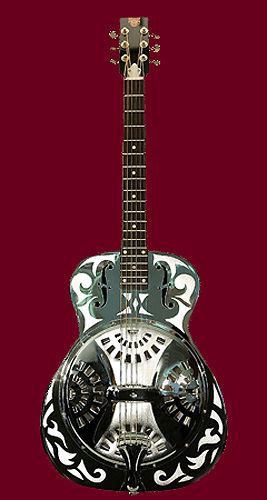 NMM 10111.  Resonator guitar by the Dobro Brothers, Chicago, 1978.