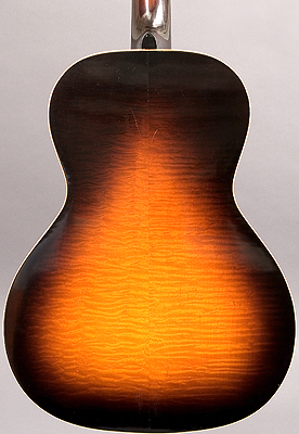 Back of guitar