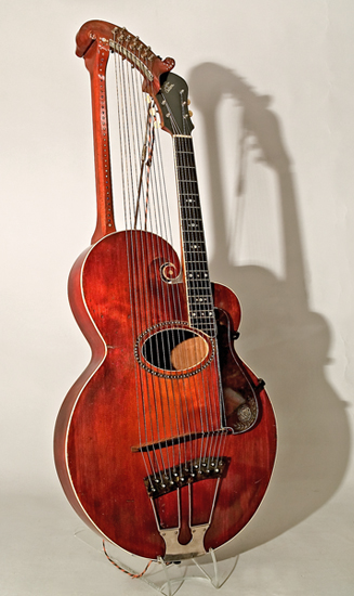 lillibridge gallery virtual tour harp guitar by gibson mandolin guitar company kalamazoo. Black Bedroom Furniture Sets. Home Design Ideas