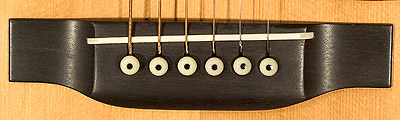 Martin guitar bridge