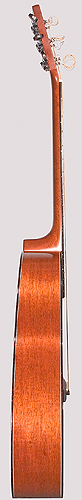 Bass side of Colvin guitar