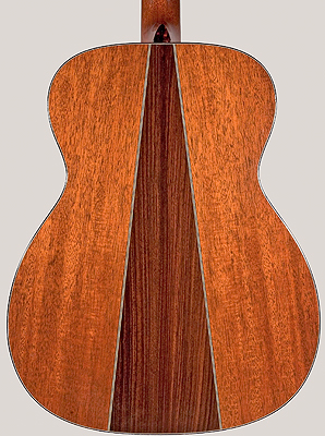 Back of Colvin guitar