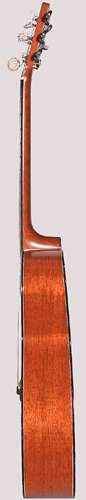 Treble side of Colvin guitar