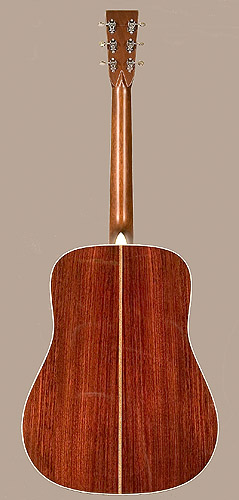 Guitar by c f martin nazareth pennsylvania 1997 at the the martin model hd 28vr is a reproduction of the classic pre war d 28 dreadnought with herringbone trim and scalloped top bracing sciox Gallery