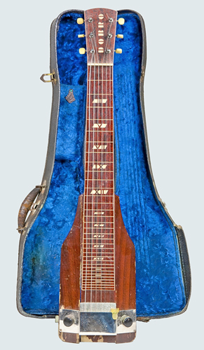NMM 11255.  Electric Lap Steel Guitar by National-Dobro Corporation, Chicago, ca. 1937-1938