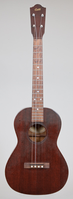 NMM 14444. Baritone ukulele by Guild, Hoboken, New Jersey, ca. 1963.