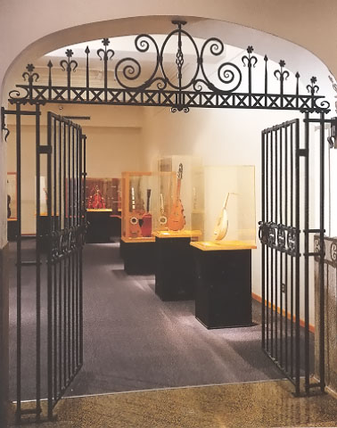 Entrance to the Rawlins Gallery at the NMM