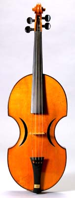 NMM 10028.  Violin by Johann Georg Stauffer, Vienna, December 1826.