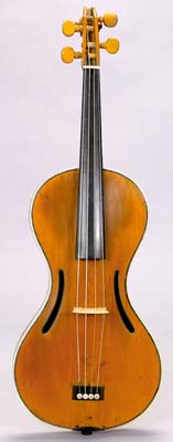 NMM 5972.  Violin by Chanot & Lété Workshop, Paris, ca. 1819