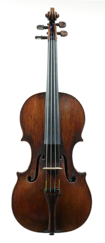 NMM 14470.  Violin, The King Henry IV, by Antonio and Girolamo Amati, Cremona, ca. 1595.