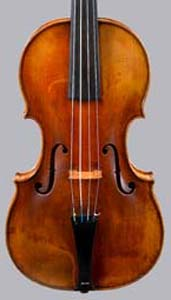 NMM 4548. Belly of Stainer violin.