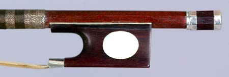 NMM 3391.  Violin bow attributed to Tourte l'aîné, Paris, ca. 1790.